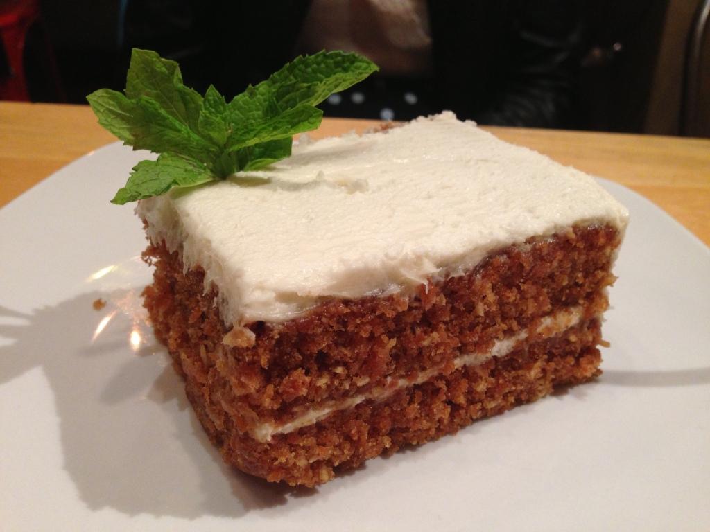 Photo cred: Alexa Creamy Vegan Carrot Cake