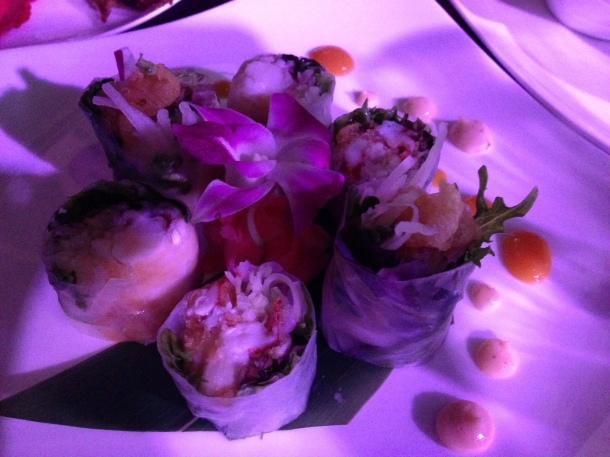 Lobster Tempura Sushi Roll Photo by Alexa