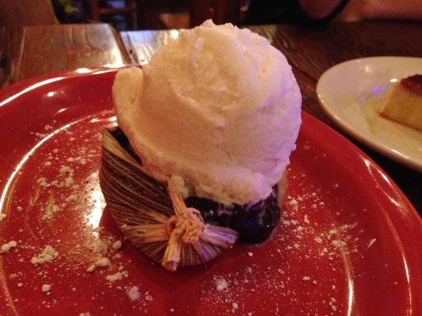 Photo by Alexa Chocolate Tamale with Vanilla Ice Cream