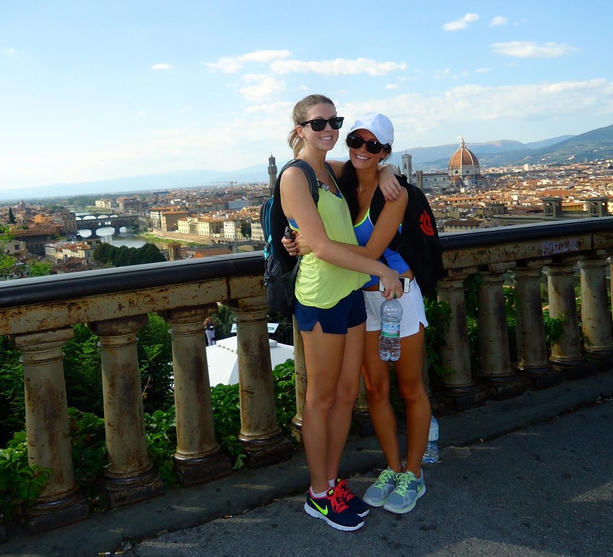 Piazzale Michelangelo Firenze, Italia