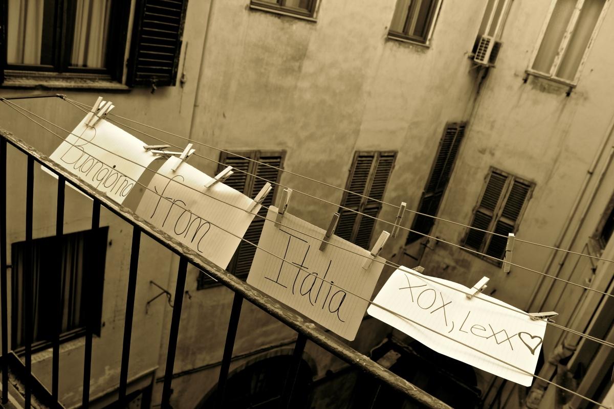 Buongiorno from Italia - xox Lexx Firenze, Italia Photo by Alexa