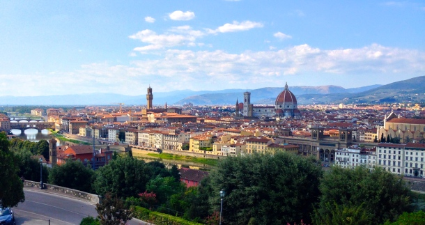 Piazzale Michelangelo Firenze, Italia Photo by Alexa