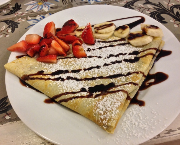 My Nutella Crepe - La Milkeria Firenze, Italia Photo by Alexa