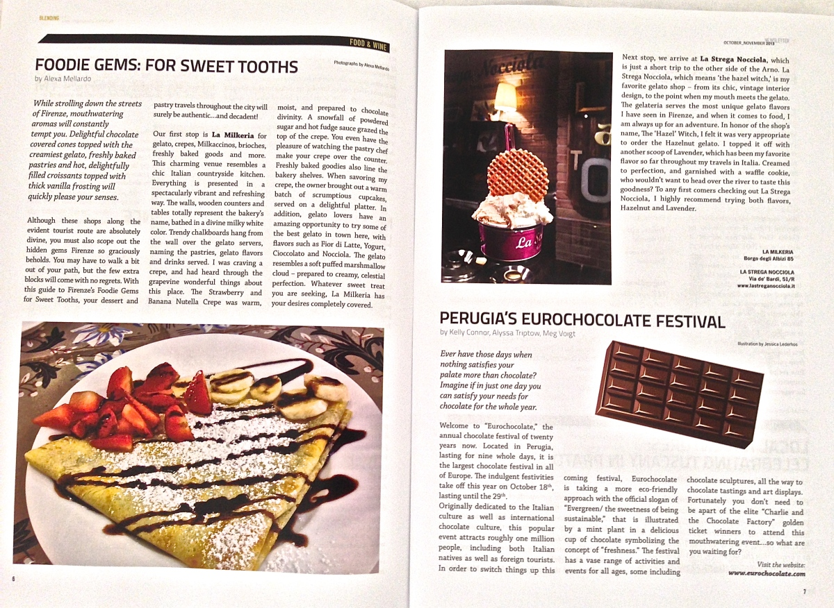 FOODIE GEMS: For Sweet Tooths Words and Pictures by Alexa