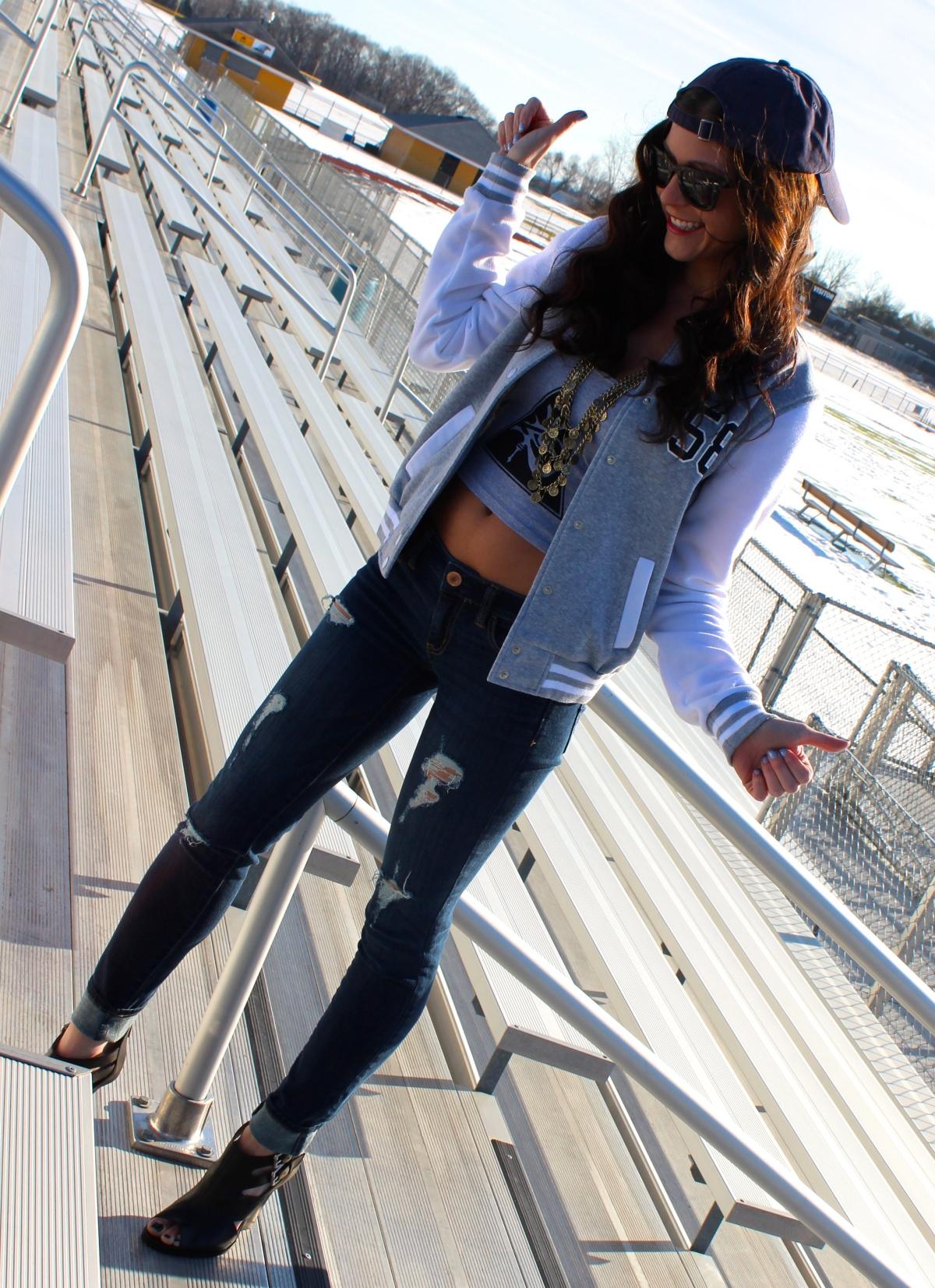 Alexa Mellardo - varsity jacket2
