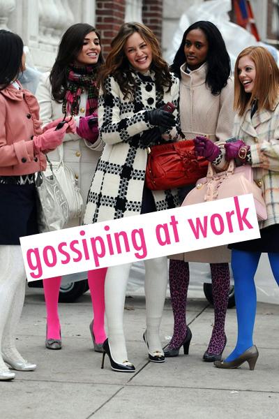 gossiping at work