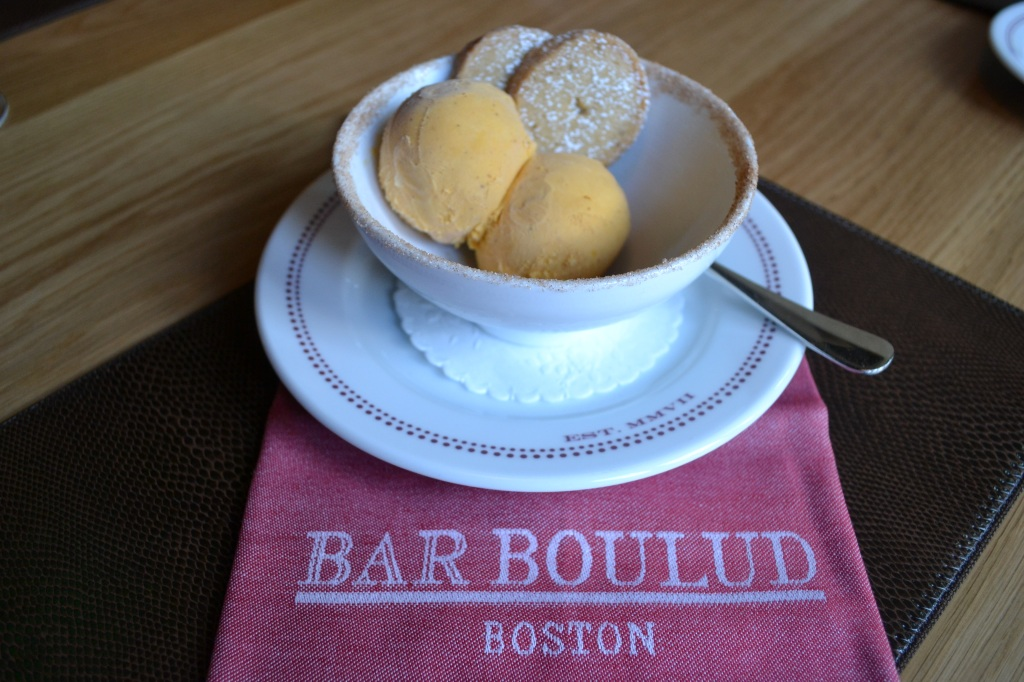 Housemade Pumpkin Ice Cream with Ginger & Brown Sugar Sable  $6