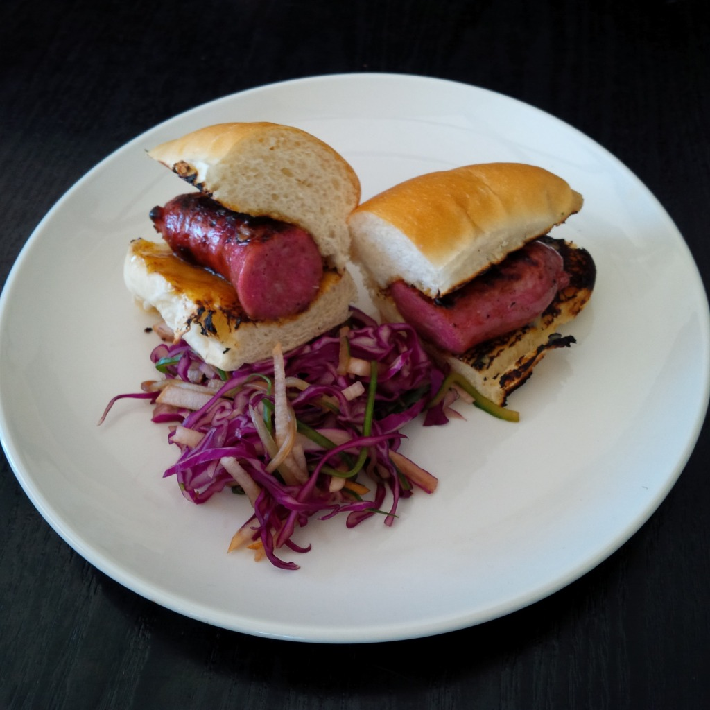 River Bar - Roasted Housemade Chinese Sausage Sub (4)
