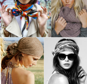 Chic Ways to Style your Scarf