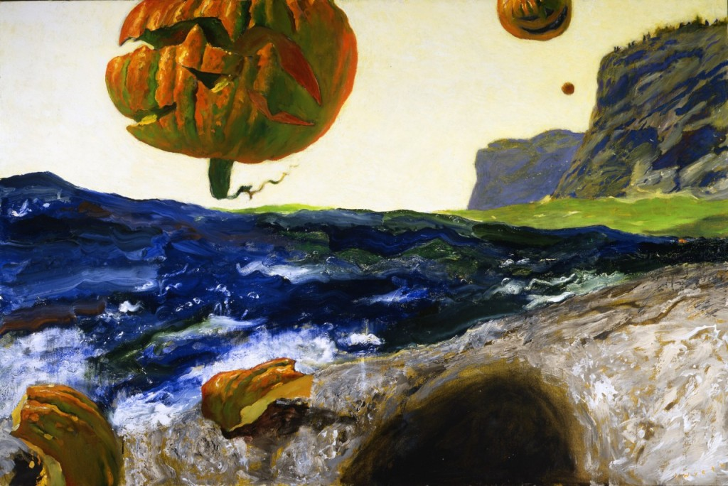 "Jamie Wyeth, ""THE HEADLANDS OF MONHEGAN ISLAND, MAINE,"" 2007"