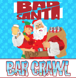 Boston's 4th Annual Bad Santa 2014 Bar Crawl