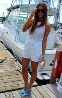 Crisp White Adds Coolness to Summer